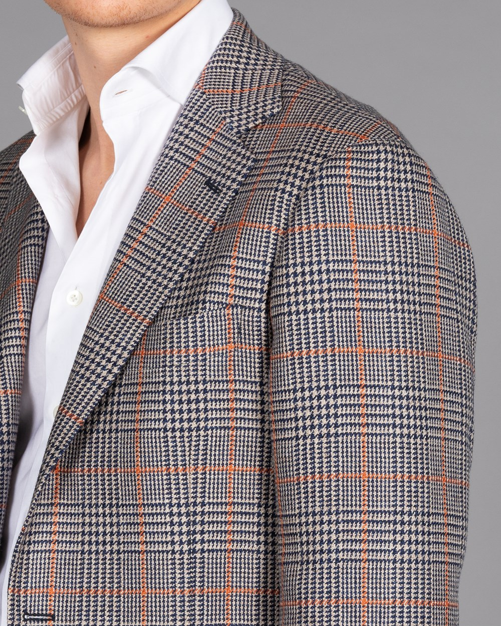Ring Jacket Checked Jacket