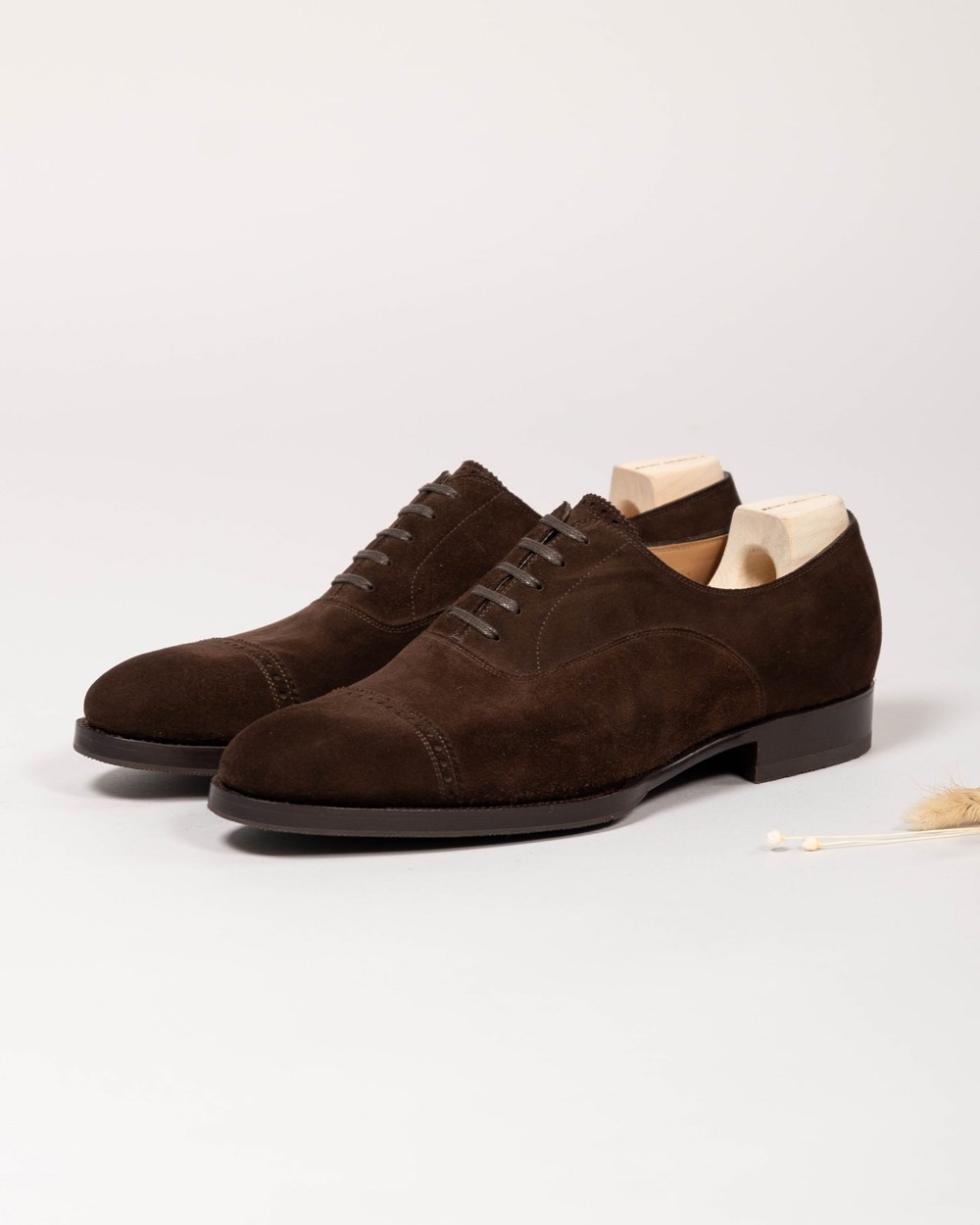 Saint Crispin's Punched Captoe Oxford 522C BCK